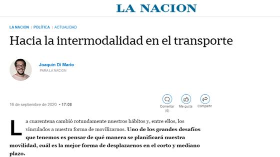 Hacia la intermodalidad en el transporte