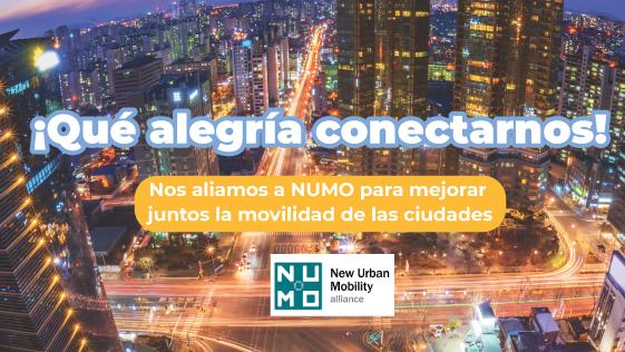 ¡Mejorando la movilidad junto a NUMO!