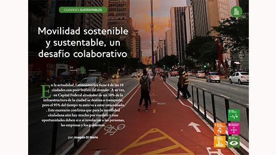 Movilidad sostenible y sustentable, un desafío colaborativo