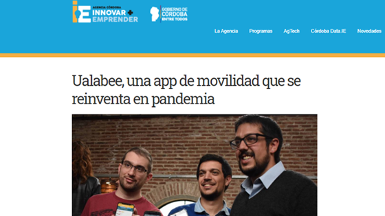 Ualabee, una app de movilidad que se reinventa en pandemia