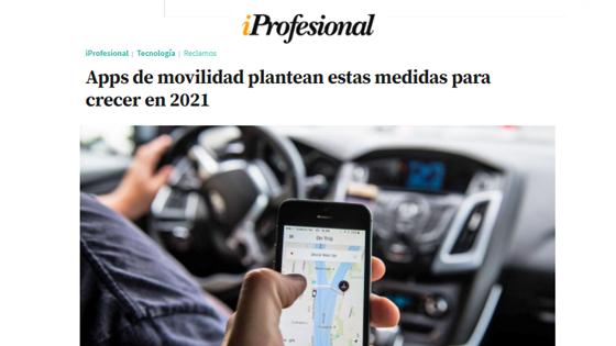 Apps de movilidad plantean estas medidas para crecer en 2021