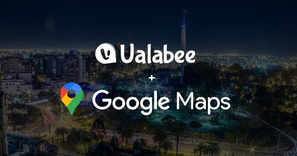 Ualabee se integra con Google Maps para beneficiar a miles de usuarios más